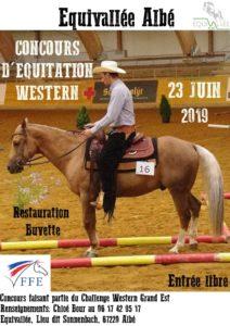 Concours équitation western à Equivallée